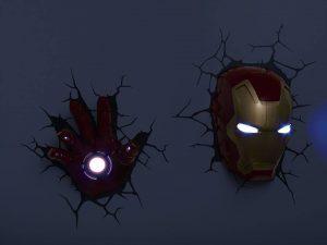 Tema Kamar Iron Man