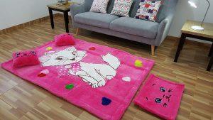 karpet karakter, karpet bulu, percantik ruangan dengan pilihan karpet