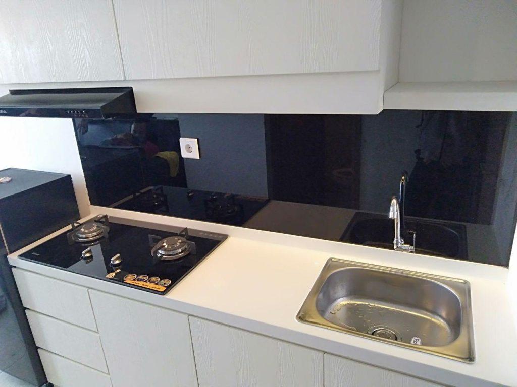 Detail Kabinet Bawah Kitchen Set